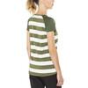 Bergans Filtvet Bluzka z krótkim rękawem Kobiety biały/oliwkowy